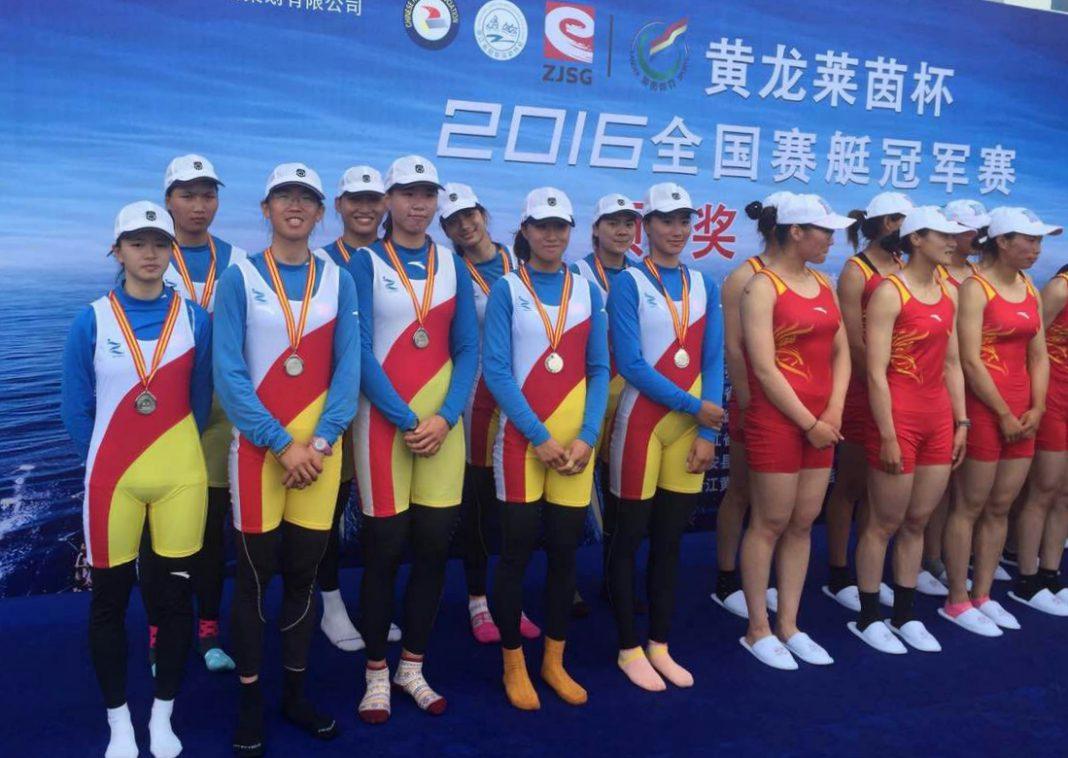 嵊州体校选手在全国赛艇冠军赛上喜获佳绩