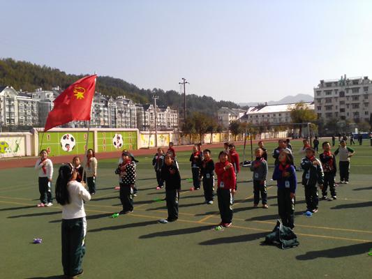 绿谷教育集团水南校区体育社团开始活动了