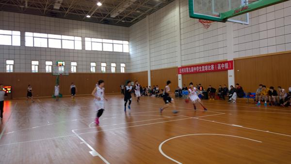台州市第九届中学生篮球联赛在天台中学拉开帷幕
