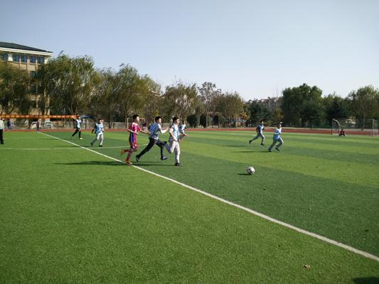 驰骋绿茵  激情碰撞——湖州四中第二届校园足球联赛
