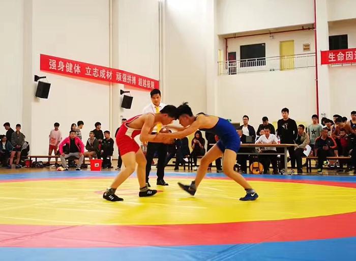 嵊州体校摔跤队在绍兴市锦标赛上喜创佳绩