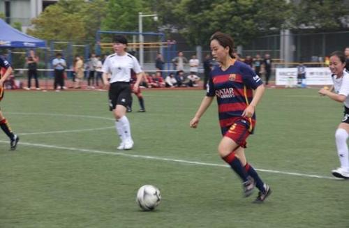 2017年浙江省大学生女子足球联赛在义乌工商职业技术学院举行