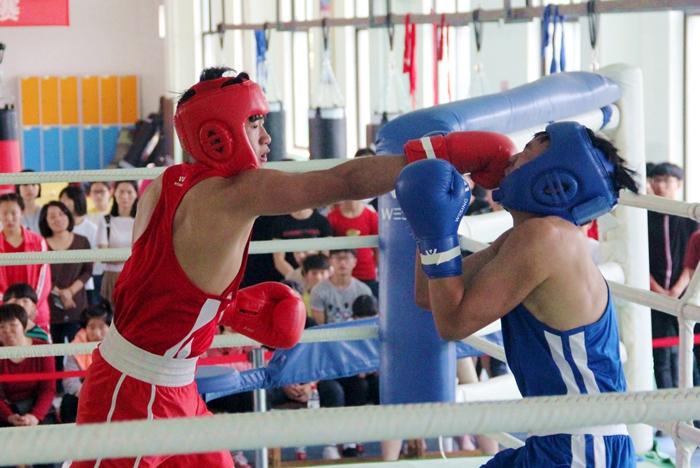 嵊州体校拳击队喜获绍兴市比赛团体总分第一名