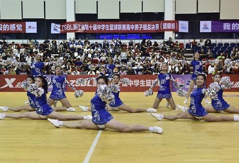 省第十四届中学生运动会啦啦操比赛选拔赛(高中组)圆满落幕