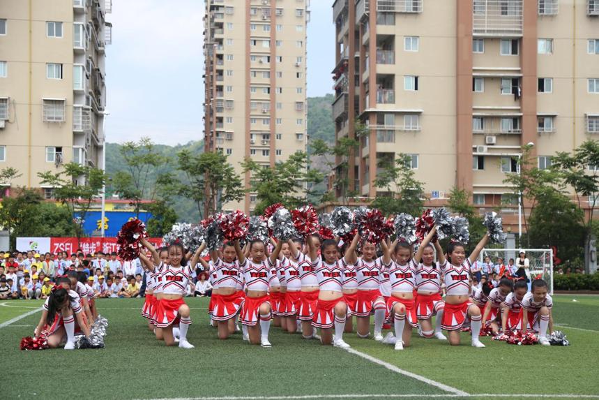 浙江省第八届中小学生校园足球联赛小学男子甲组在仰义二小开幕