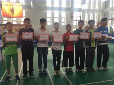 婺城区第七届中小学生乒乓球联赛开始啦!