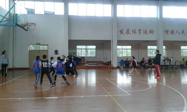 婺城区第十届中小学生篮球联赛在仙源湖实验开赛