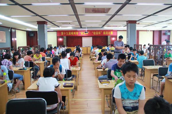 嵊州合力推进棋类项目发展
