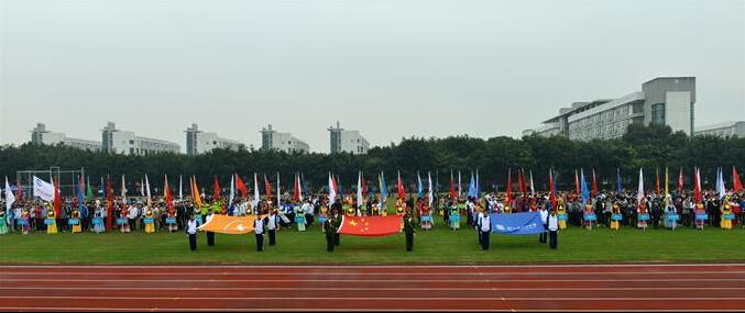 2015年浙江省中学生田径锦标赛暨省第十三届中学生运动会高中田径比赛开幕