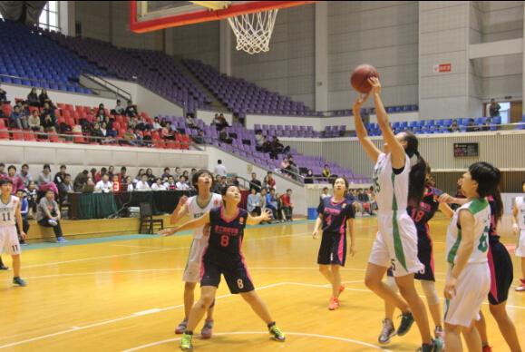 2015年浙江省大学生篮球联赛女子甲组比赛在浙江理工大学落下帷幕