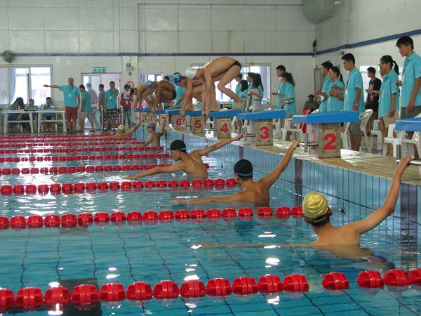 省中小学生游泳联赛湖州赛区比赛顺利举行