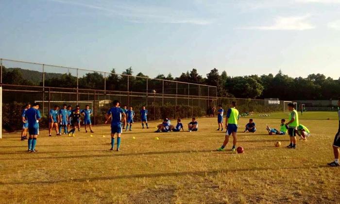 2015年嵊州市暑期校园足球骨干师资专项培训在杭城举行