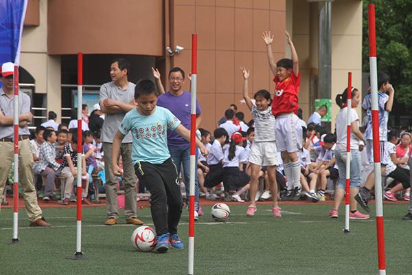 柯城实验小学举办足球嘉年华