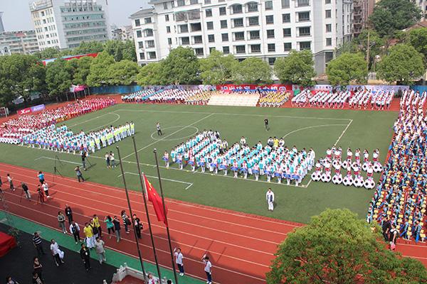 2500名师生齐聚柯城区实验小学乐享足球盛宴