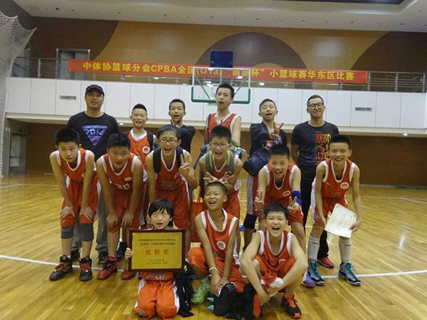 浙江衢州篮球少年挺进全国赛!