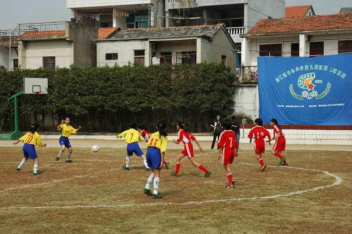 嵊州市崇仁中心小学举行校园足球节
