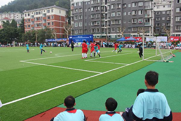 第六届ZSFL联赛初男总决赛建兰中学开赛