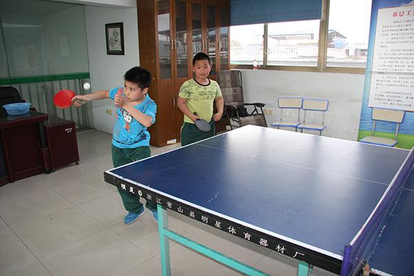 龙泉绿谷教育集团积极备战全市中小学生乒乓球赛