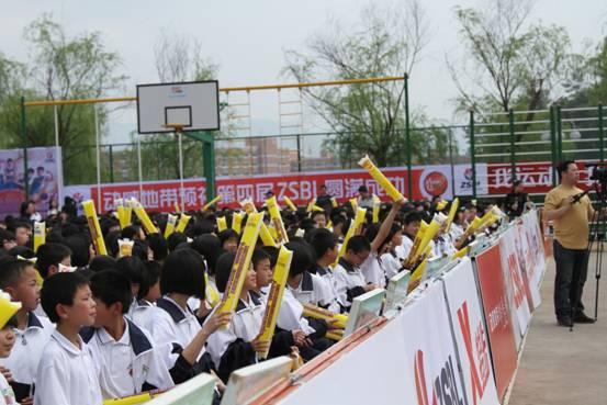 浙江省第四届中学生篮球联赛篮球嘉年华活动在临海市回浦实验中学顺利举行