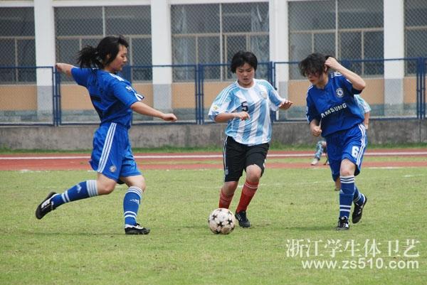 义乌举行第三届中职学生足球赛