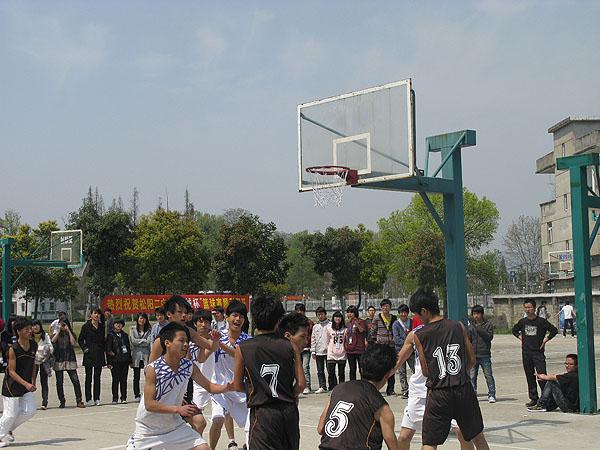 丽水市松阳二中开展第四届中学生篮球联赛
