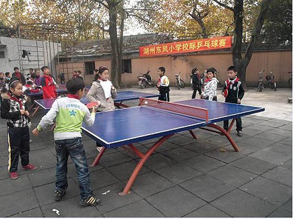 湖州市东风小学浙江省第三届中小学生乒乓球联赛湖州赛区开展情况