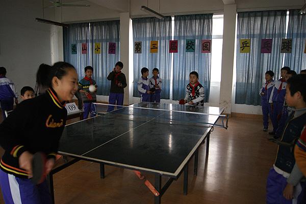 爱山小学教育集团举行第三届校级乒乓球联赛