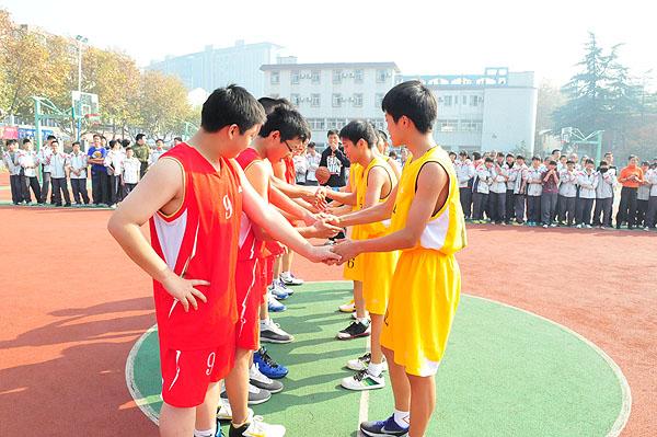 """吴兴实验中学""""万班篮球赛""""圆满落幕"""