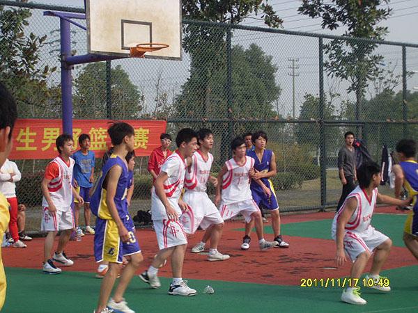 湖州市第十一中学教育集团开展阳光体育(篮球活动)情况