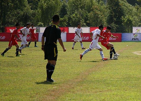 特步第三届ZSFL高中、中职组总决赛7月8日赛况:坚持也是一种胜利