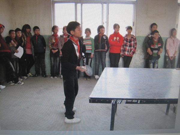 阳光体育三大联赛开展纪实妙西小学赛乒乓