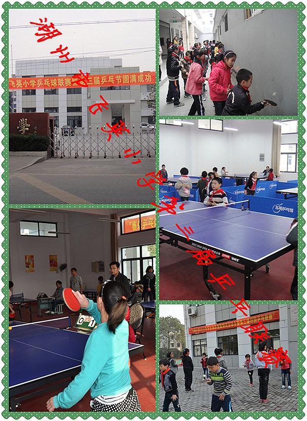 湖州市飞英小学举行第三届乒乓联赛简报