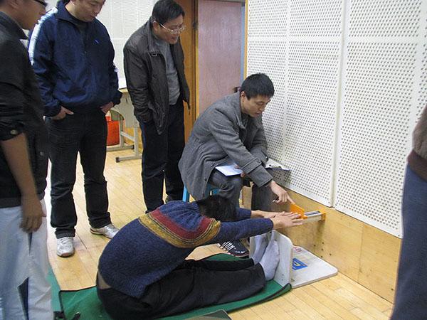 绍兴市普高学生进行体质健康标准测试抽测