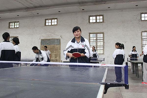 湖州新世纪外国语学校乒乓球赛报道