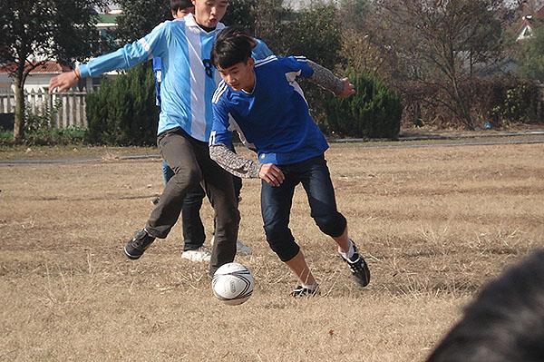 校园足球、深入人心