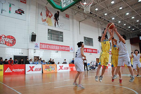 中国移动校讯通第六届ZSBL宁波赛区开赛