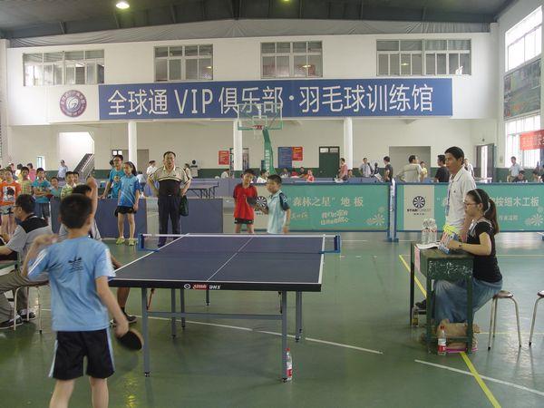 2012南浔区中小学生乒乓球比赛顺利举行