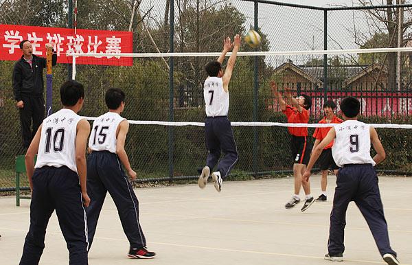 长兴县第五届体育节中小学生排球比赛圆满结束