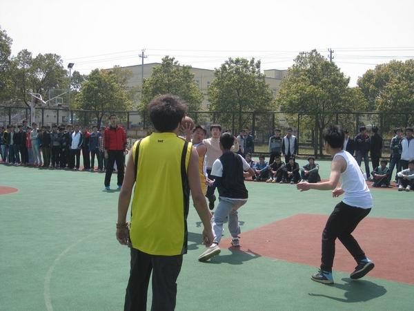 浙江省第七届中学生篮球联赛湖州赛区第一阶段